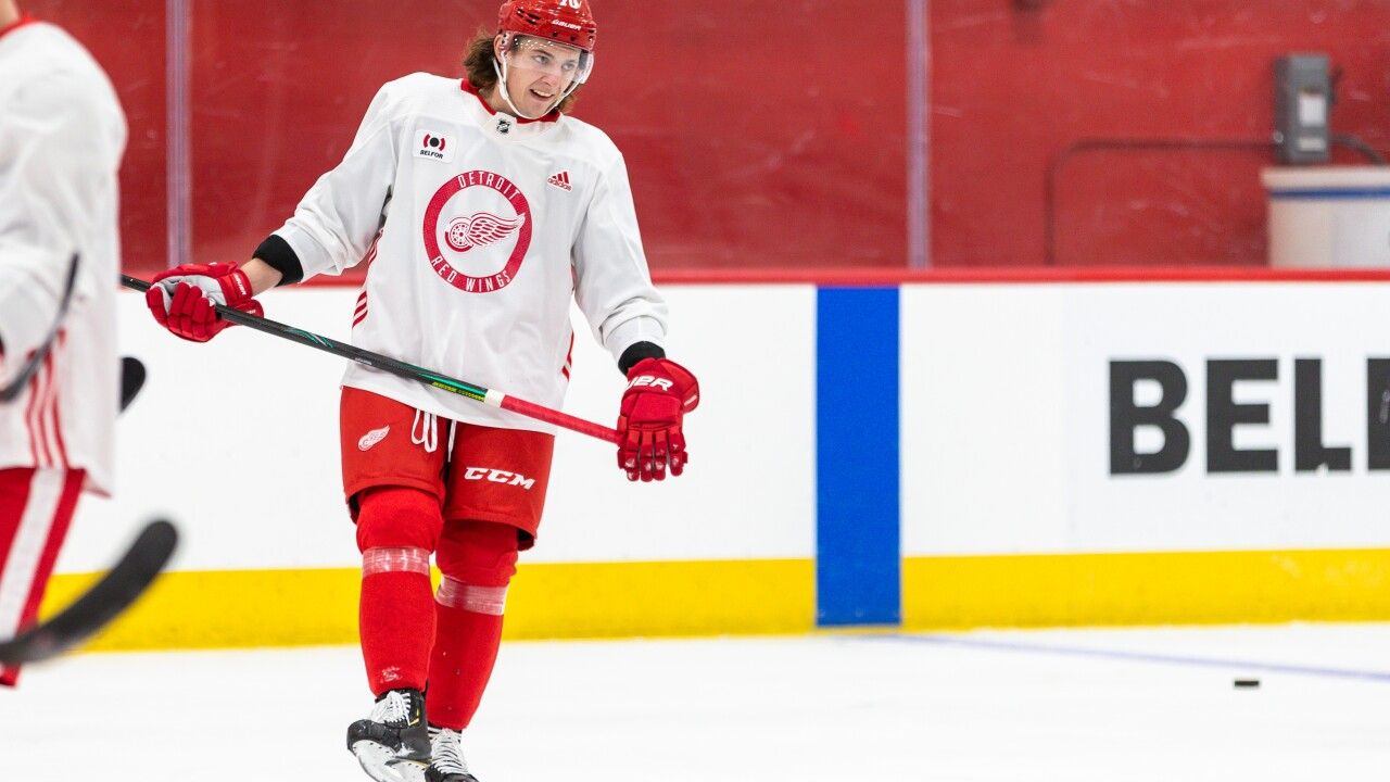 2020-2021 Detroit Red Wings Training Camp - Day One Troy Stecher