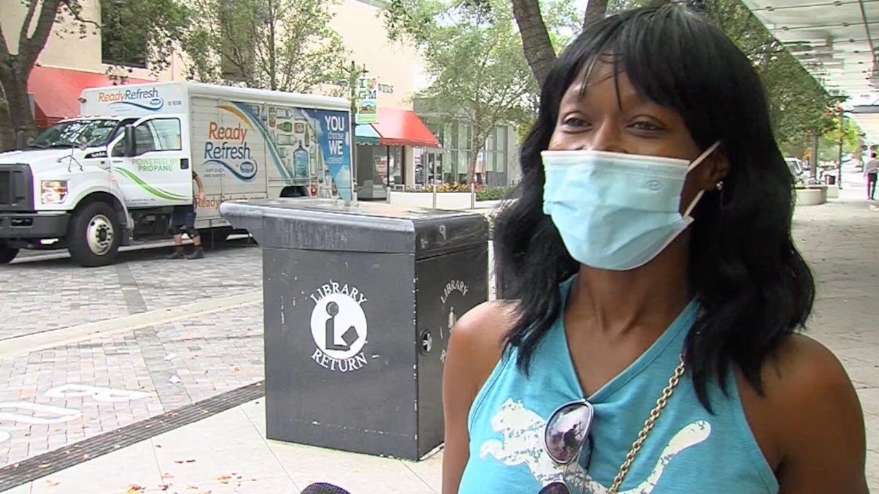 Ayisha Wright, Palm Beach County resident