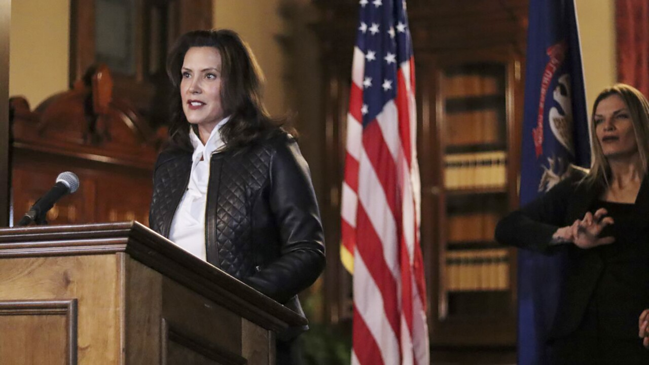 WATCH: Gov. Whitmer joins 6 Midwest governors in 'Mask up' video ahead of holidays