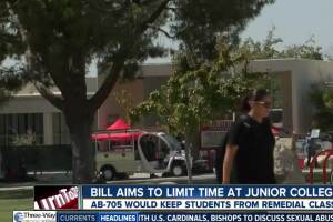 California bill aims to limit time at junior colleges