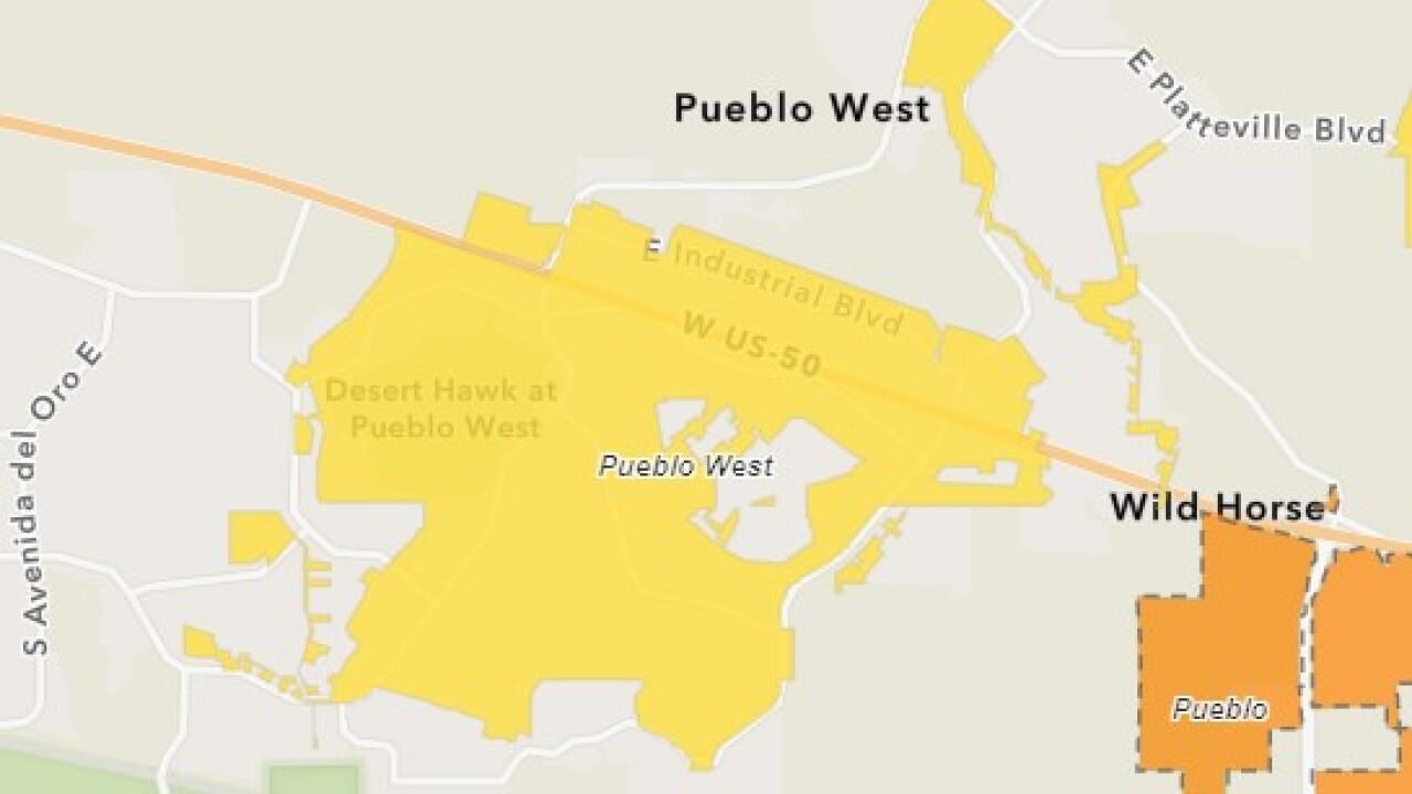 Pueblo West wastewater shows rise in Coronavirus between Dec. 15-17