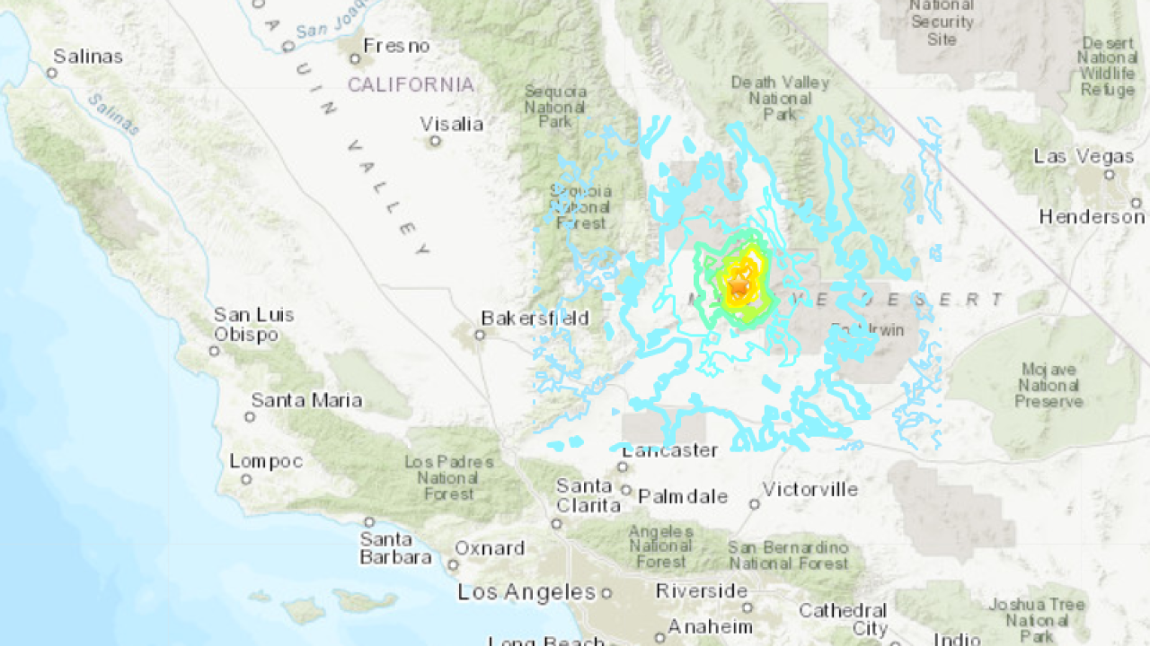 5.5-magnitude earthquake hits Southern California