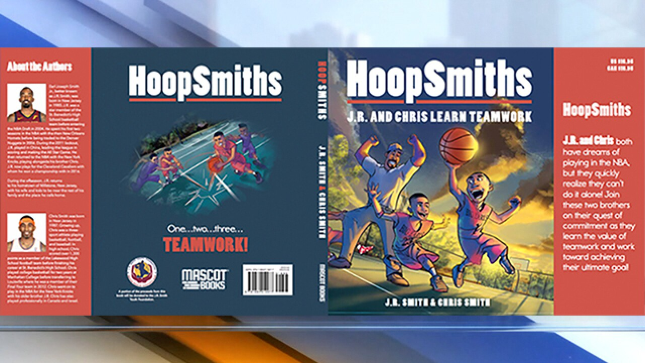 JR Smith taps into new endeavors with the release of a children's book