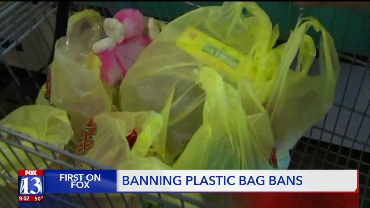 Legislation to ban the banning of plastic bag use in Utah passescommittee