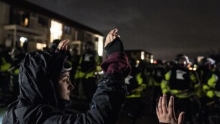 Police Shooting Minnesota Daunte Wright protests