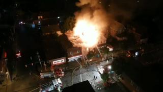 Crews battling massive fire at multiple homes in Niagara Falls
