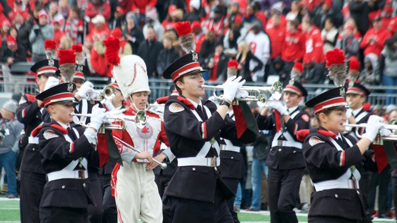 From marching band to team? Viral video gives Ohio State trumpeter a tryout