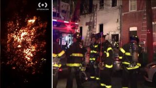 Bronx apartment building fire in Williamsbridge