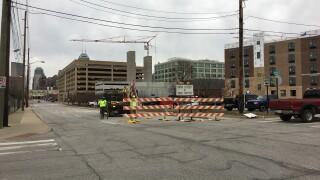 Illinois Street construction.JPG