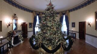 White House unveils 2018 Christmas decorations