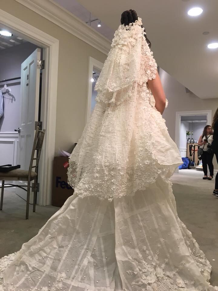 Photos: Chesapeake man wins $10,000 in national toilet paper wedding dresscontest