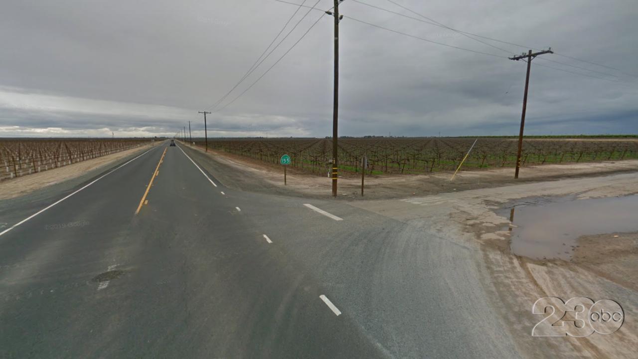 Highway 155 and Zerker Road, Delano