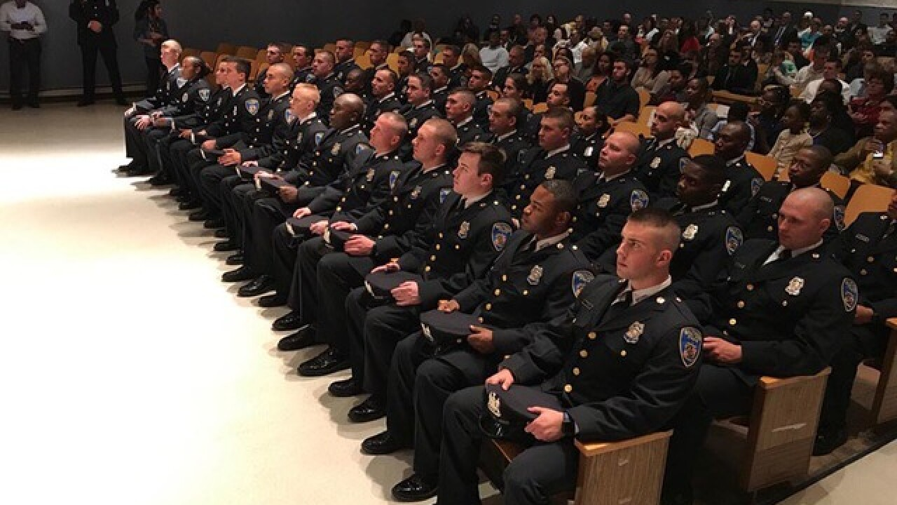Baltimore's newest police officers graduate