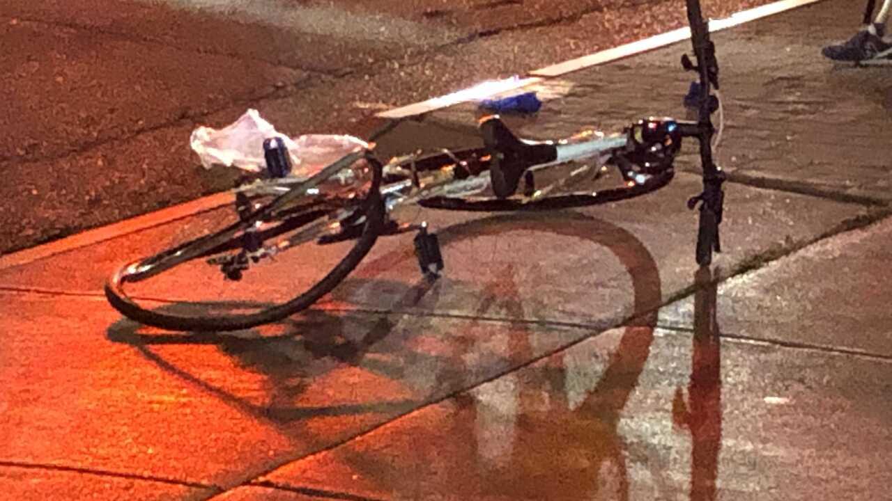Elmwood Village bike accident