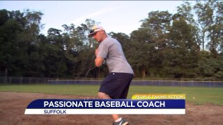 People Taking Action: Local man volunteers coaching multiple sports teams!