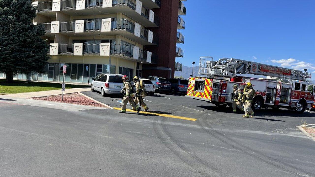 Satellite Hotel fire