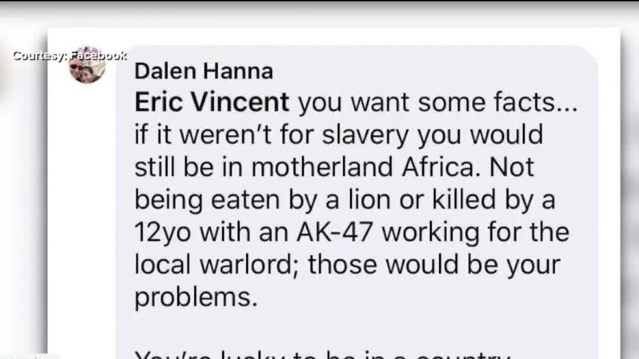 Attorney under fire for making racist Facebook comments about slavery