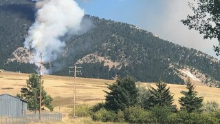 Wildfire reported in Bridger Mountains