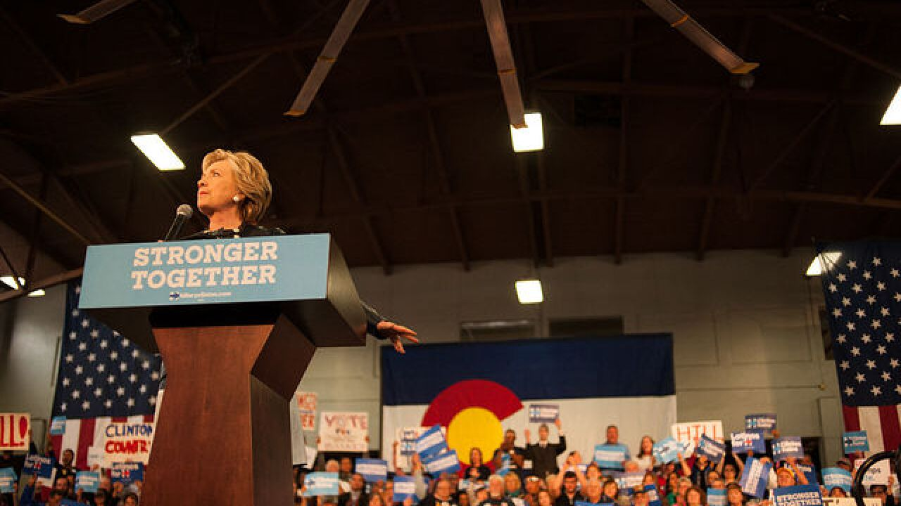 Hillary Clinton to headline midterm fundraiser for Democrats in Denver