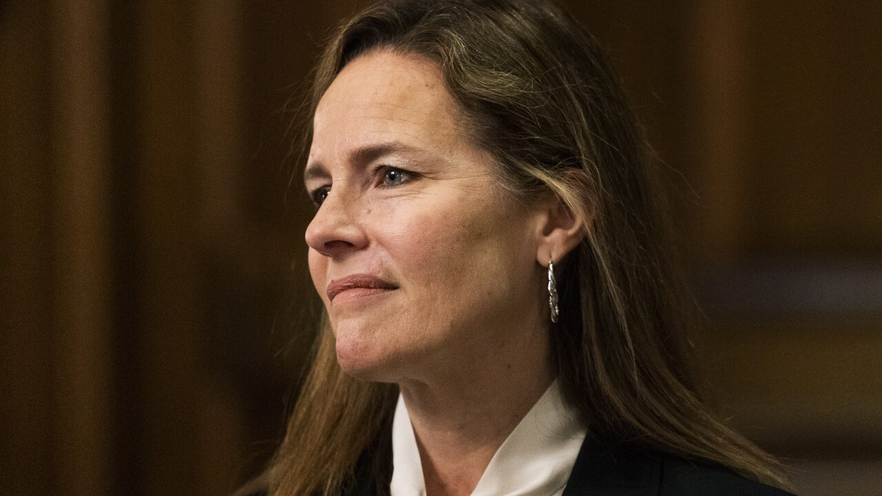 Amy Coney Barrett to tell senators courts 'should not try' to make policy decisions