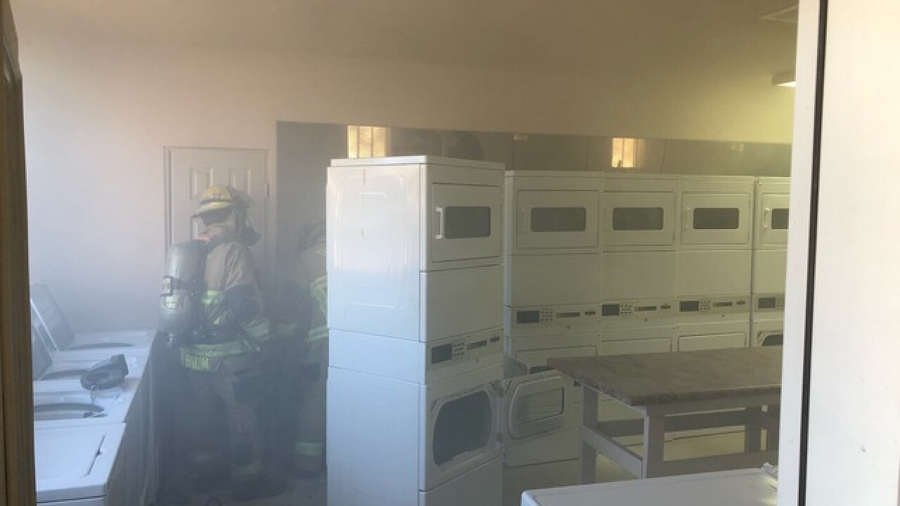 Tucson Fire Department responds to garage fires