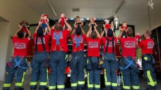 Baby boom at East Lake Fire Rescue just in time for Father's Day