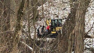Crews search for man