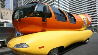 You can rent the Wienermobile to propose to your loved one