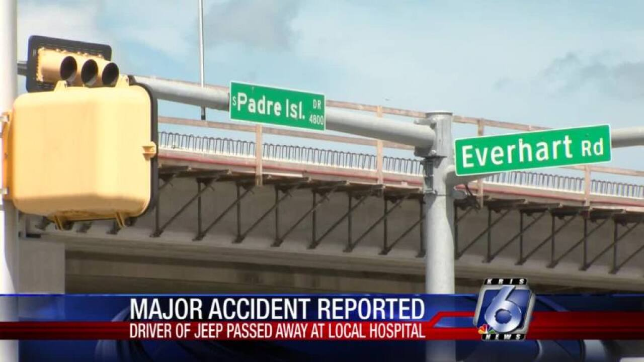 One dead in four-vehicle accident at SPID and Everhart