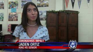 King High School student looking for positive ways to pay for college