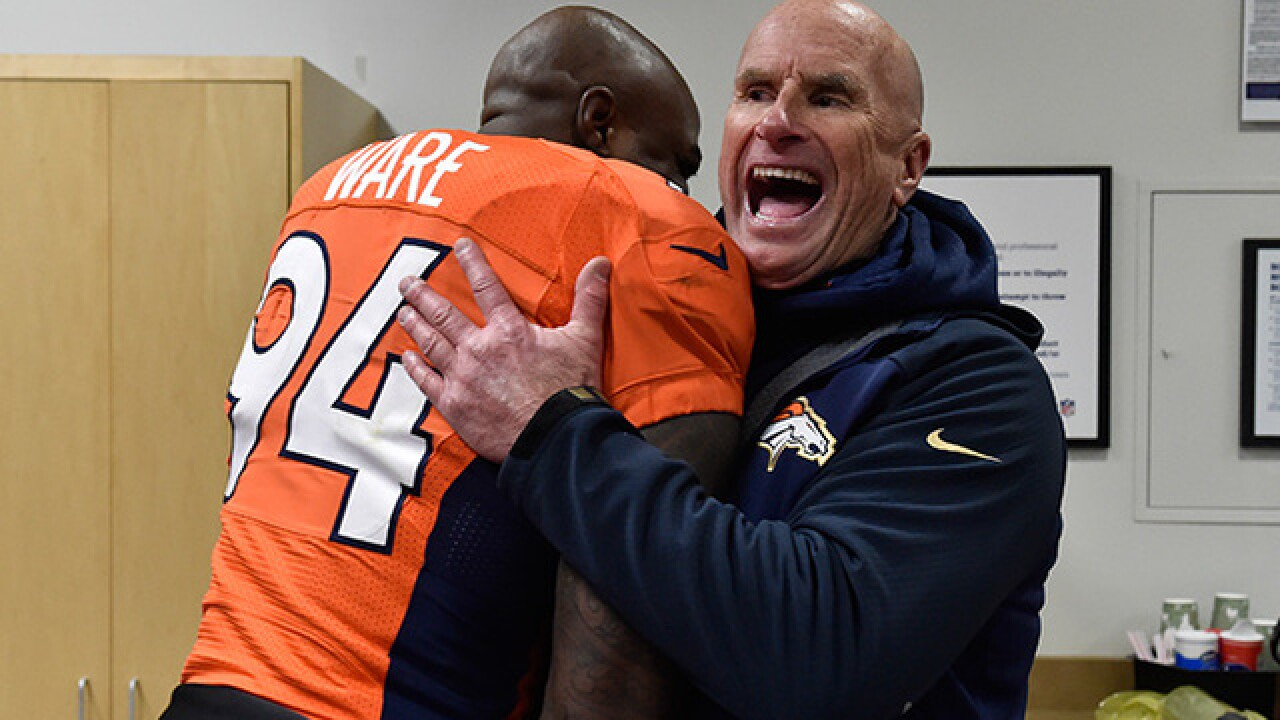 Broncos' Joseph retains key members of defensive coaching staff