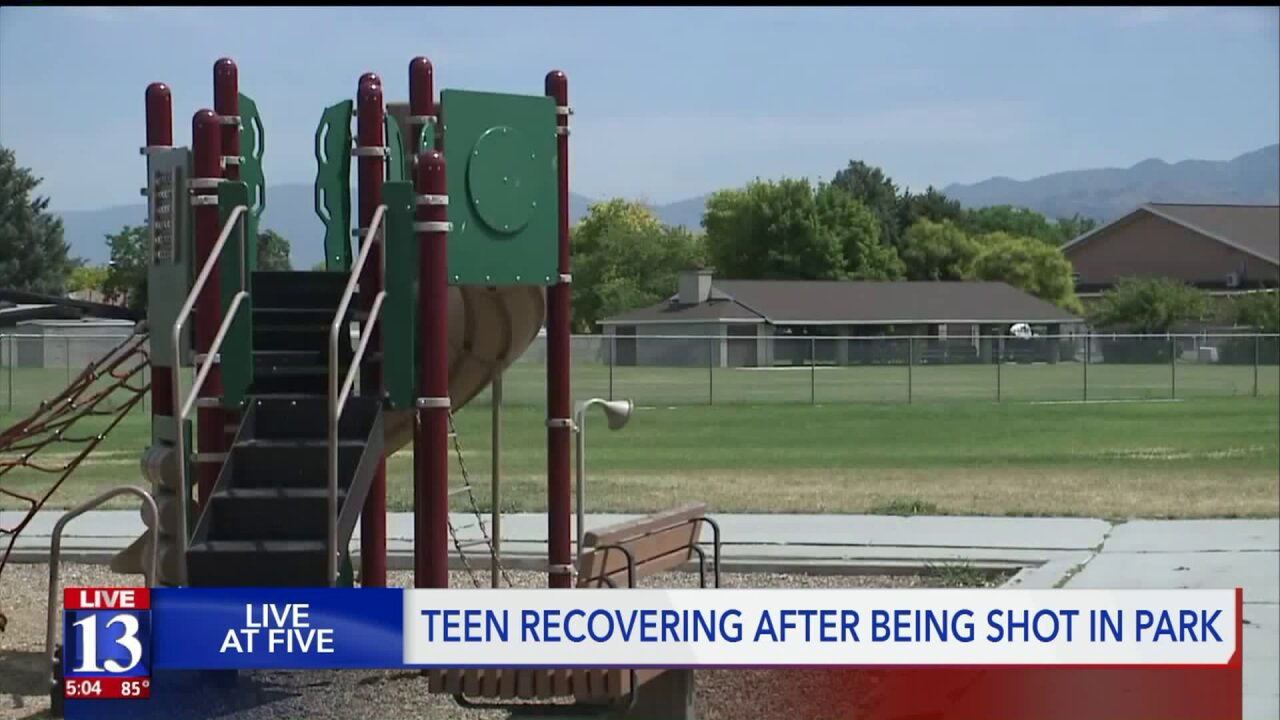 Police searching for suspect(s) who shot teenager in West Valley CityPark