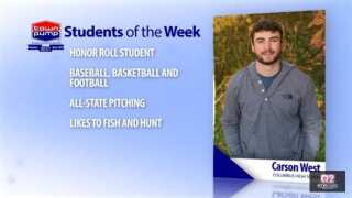 Students of the Week: Dylan Sutton and Carson West of Columbus High School