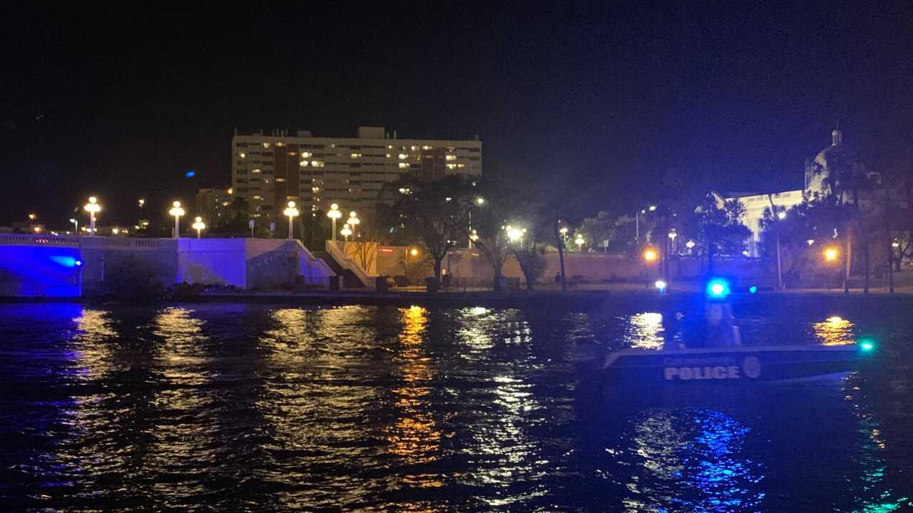 Boat Tribute on Hillsborough River