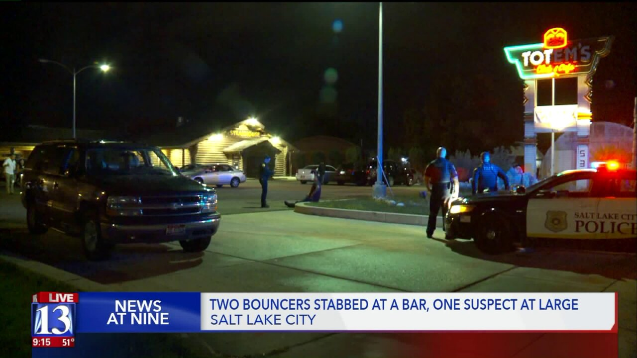 SLC Police: Men attacked bouncers with knife and bat after getting kicked out of bar