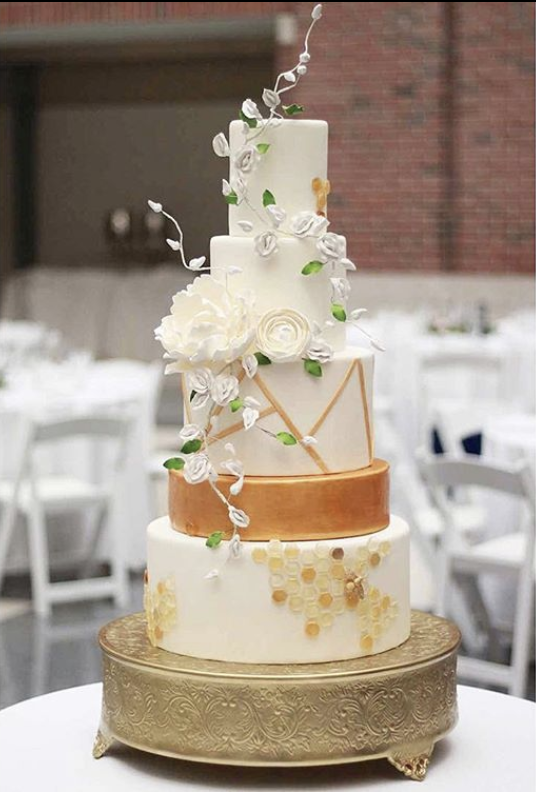 Petite Sweets Detroit Tiered Cake