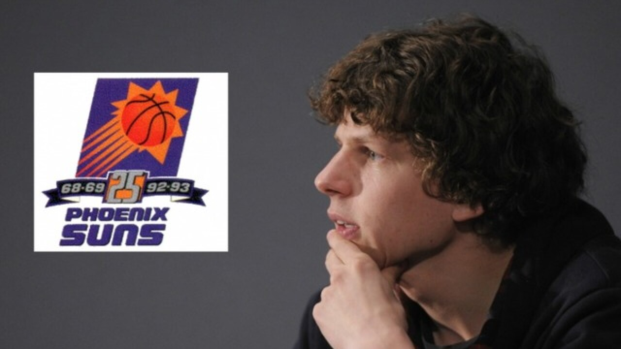 Jesse Eisenberg blames himself for the Suns' loss in Game 6 of the 1993 NBA Finals
