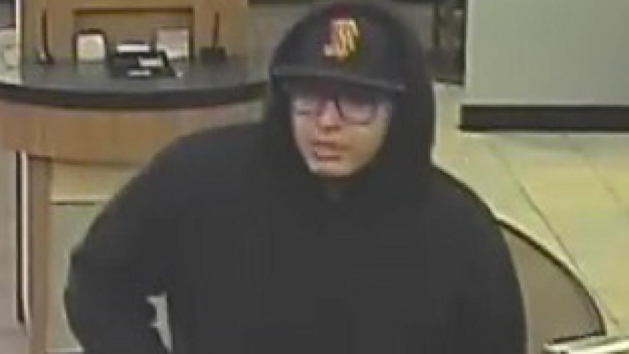 Avondale bank robber 1