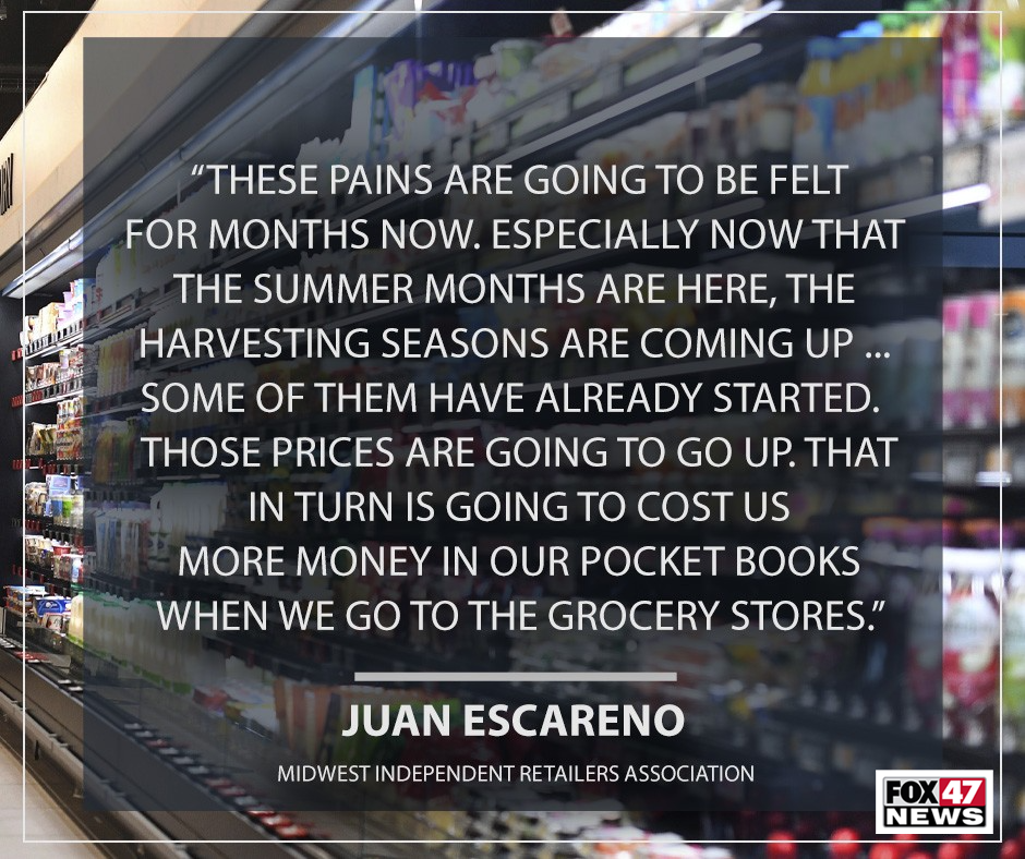 Juan Escareno on the challenges that retail stores are having.
