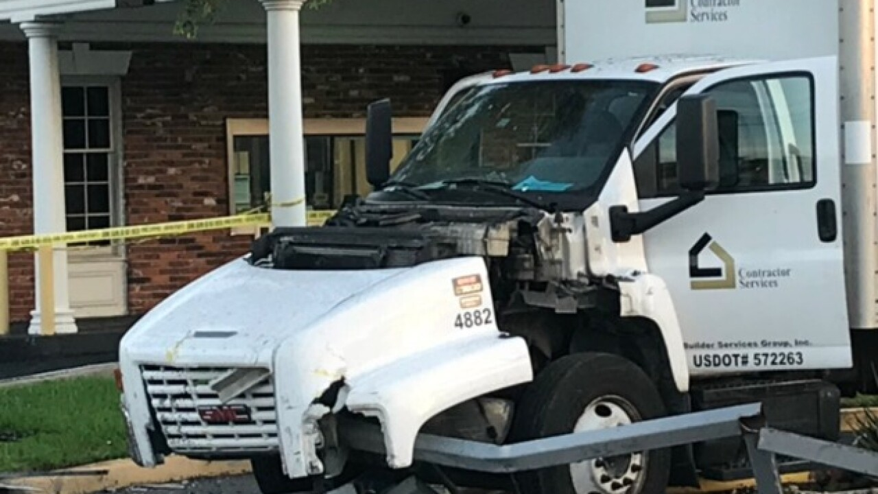Couple sought after crashing vehicle into ATM