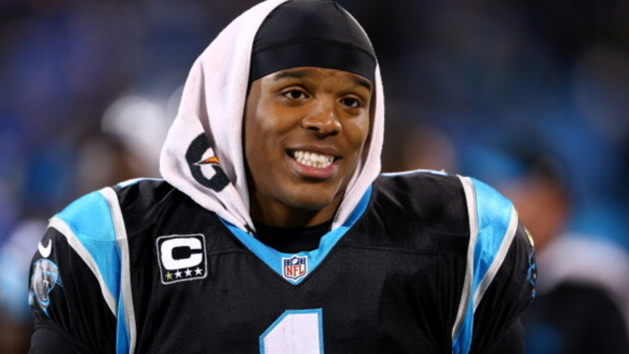 Panthers' Newton suffers back fractures in crash
