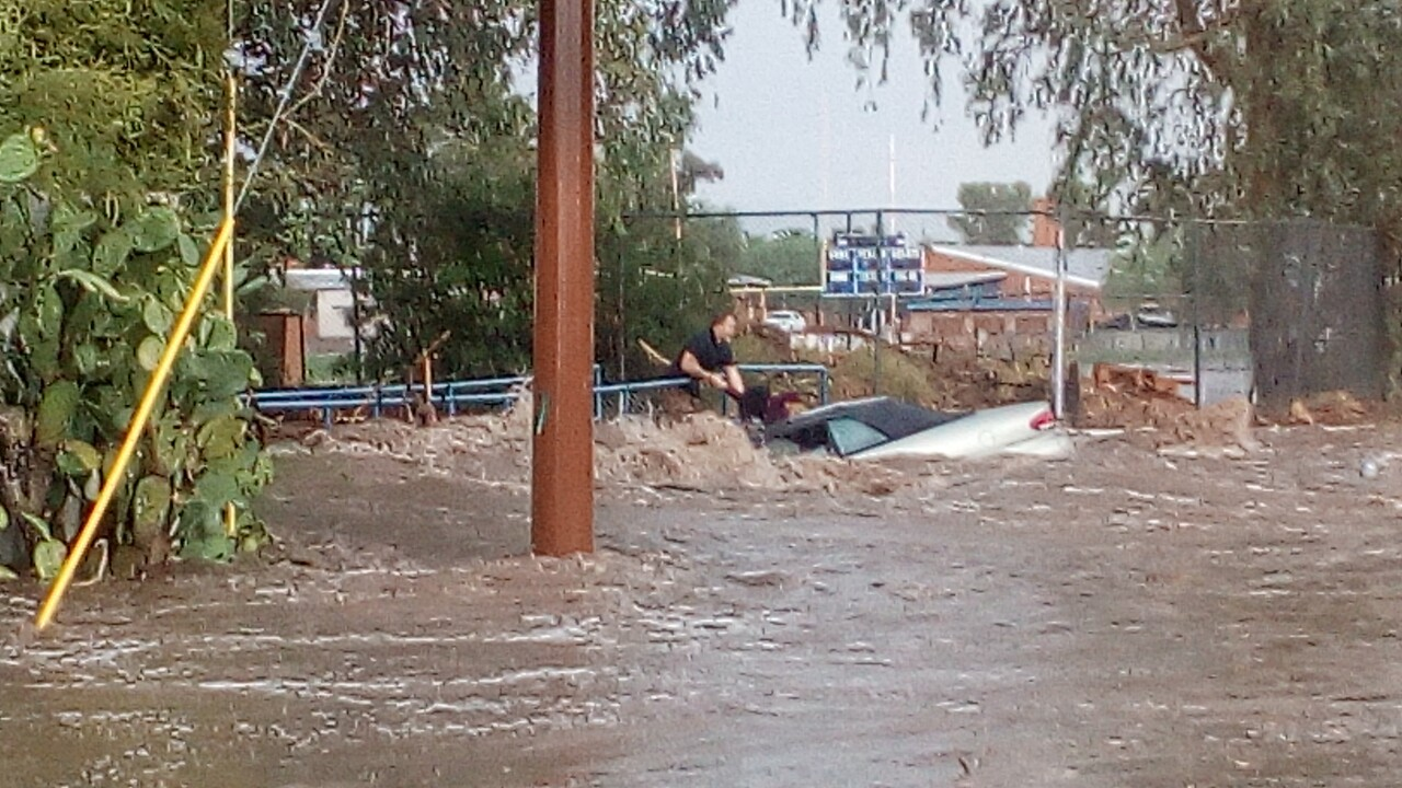 Man saves two people in monsoon