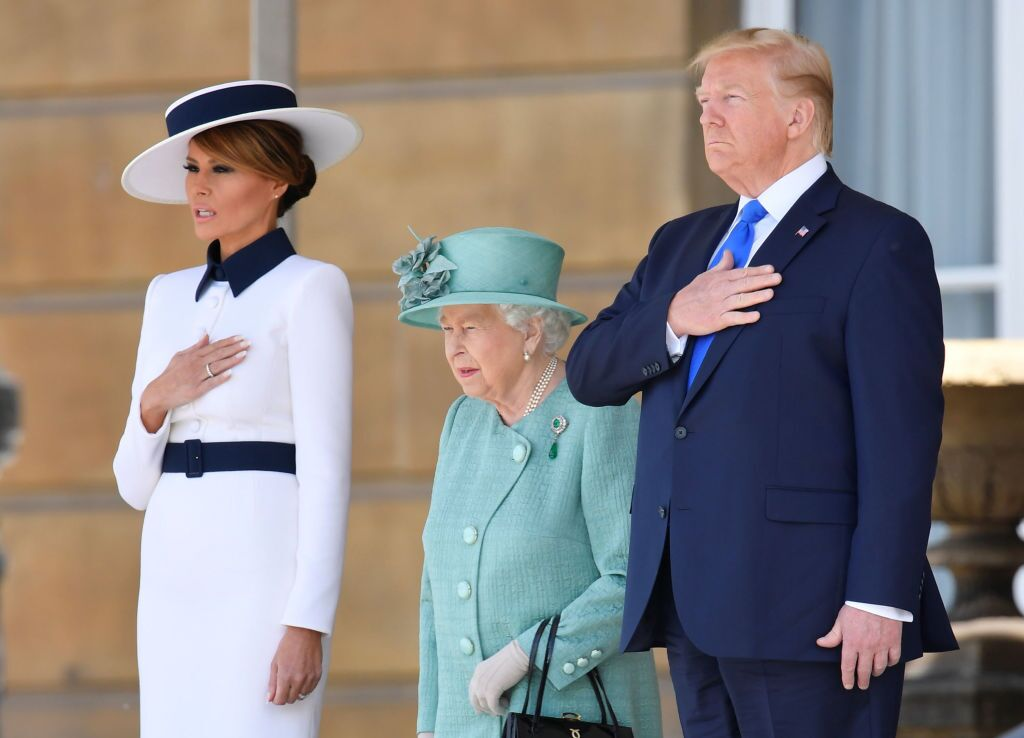 Photos: President Trump visits the UK