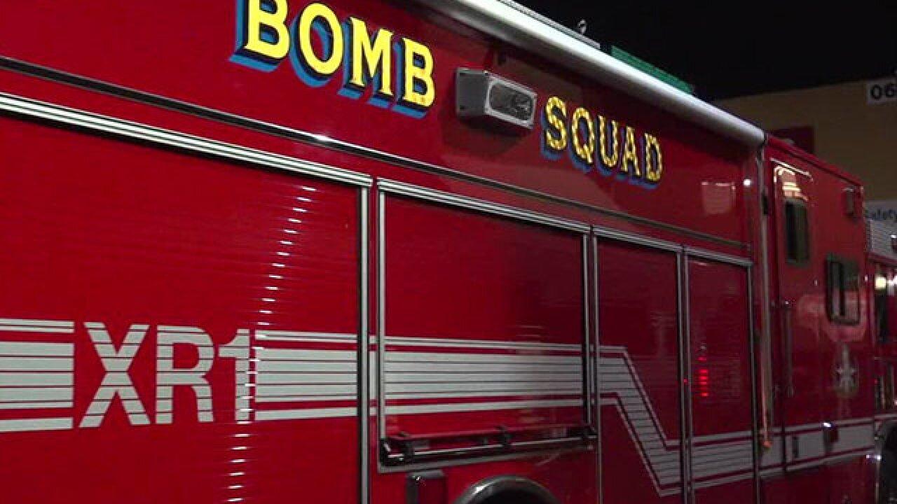 Bomb squad responds to item found on Navy ship