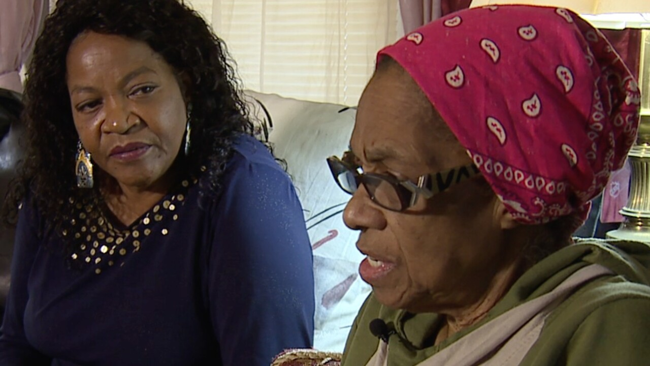 Michele Mayhand and her sister Josephine Smiley said Cleveland Water is wrong about meter readings