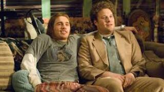 "James Franco and Seth Rogen star in ""Pineapple Express."""