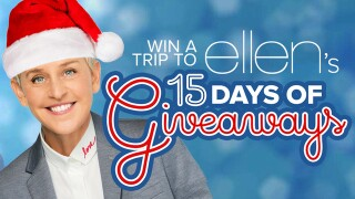 Ellen 15 Days of Giveaways Contest Rules