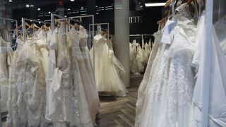 Should brides fear wedding gown shortage for wedding season?