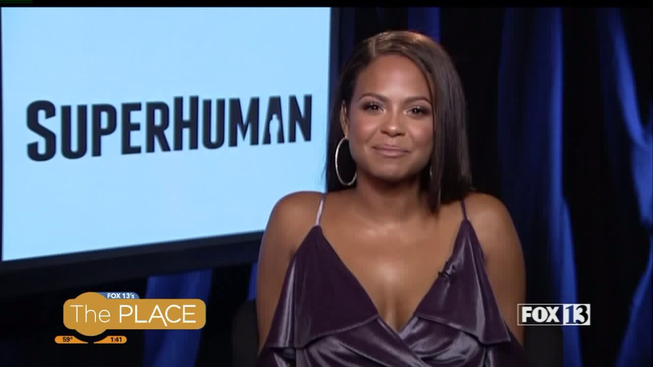 An interview with Christina Milian about the new show SuperHuman