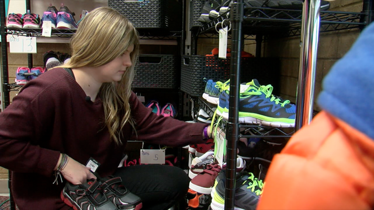 Jenks teenager's nonprofit provides shoes to people all across the world & in Green Country